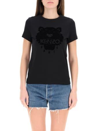 Kenzo Flock Tiger T-shirt