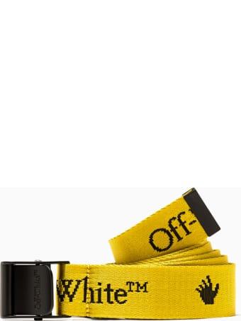 Off-White New Logo Mini Industrial Belt Owrb034f20fab001