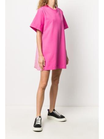 Mr & Mrs Italy Mini Dress With Plisse'