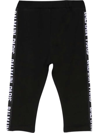 Balmain Black Baby Trousers