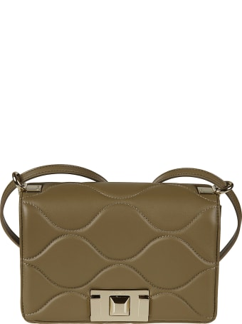 Furla Quilted Flap Shoulder Bag