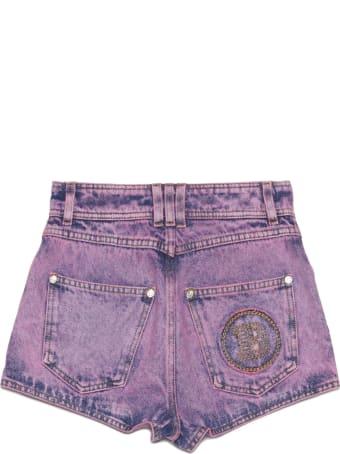 Balmain 'acid Wash' Shorts