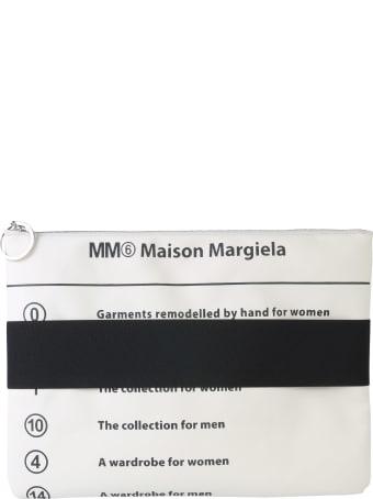 MM6 Maison Margiela Clutch With Elastic Band
