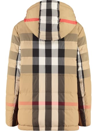 Burberry Reversible Hooded Down Jacket