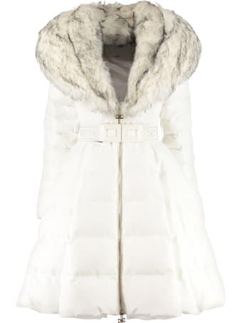 Elisabetta Franchi Celyn B. Full Zip Padded Jacket