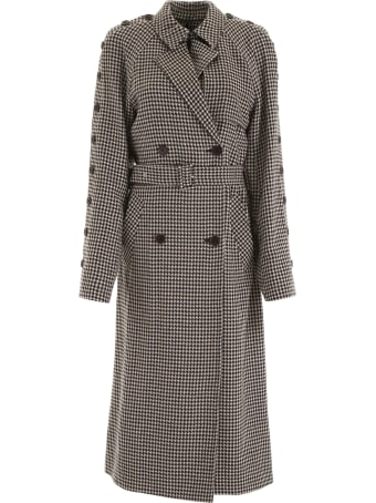 Rokh Houndstooth Coat