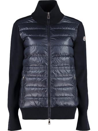 Moncler Padded Front Panel Cardigan