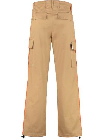 MSGM Gabardine Cargo Trousers