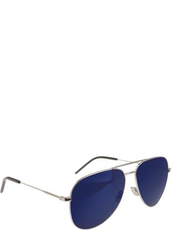 Saint Laurent Classic 11 Sunglasses With Blue Lenses