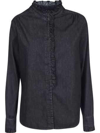 Dondup Ruffled Trim Shirt