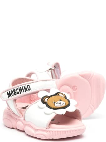 Moschino Sandals With Applications