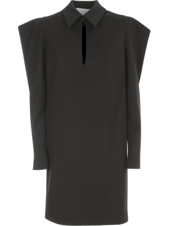 Erika Cavallini Rachele Puffed Sleeves Dress