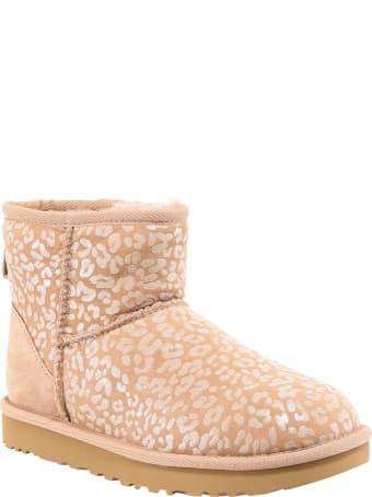 UGG Leopard Print Snow Boots
