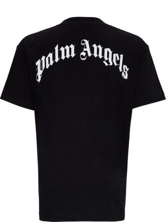 Palm Angels Bear Print Jersey T-shirt