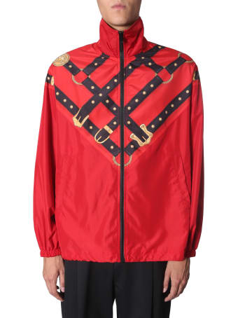 Versace High Neck Jacket