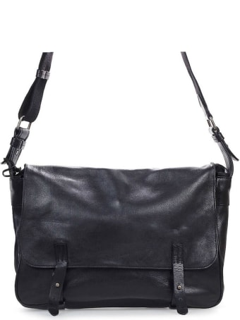 Rehard Black Leather Briefcase