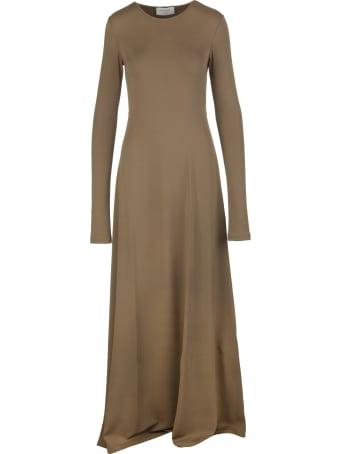 Max Mara Brown James Long Dress