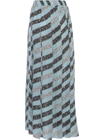 Olivia Palermo Printed A-line Long Skirt