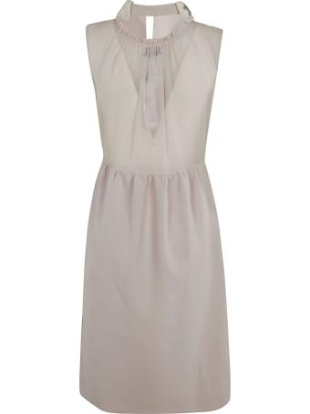 Dice Kayek Classic Star Embellished Collar Dress