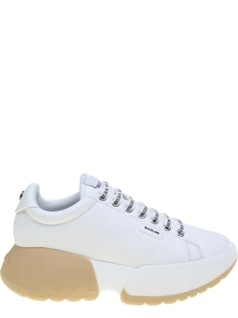 Ruco Line Rucoline Sneakers R-bubble 1454 In White Leather