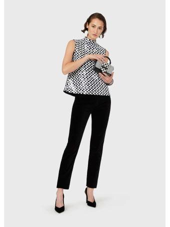 Emporio Armani Velvet Trousers