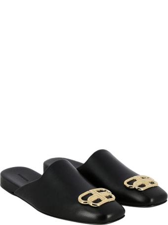 Balenciaga Black Bb Cosy Mules