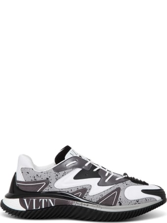 Valentino Garavani Neoprene And Fabric Wadw Runner Sneakers