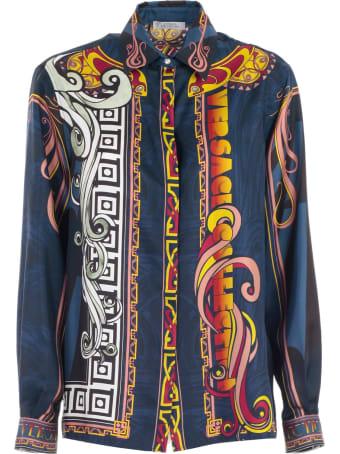 Versace Collection Shirt L/s Silk Comics Fantasy