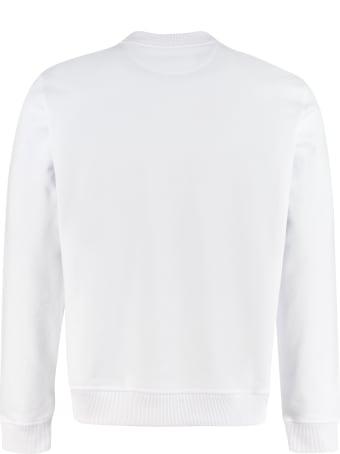 Fendi Cotton Crew-neck Sweatshirt