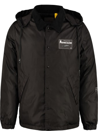Moncler Kurn Hooded Padded Jacket