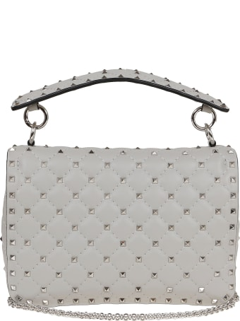 Valentino Vlogo Rockstud Shoulder Bag