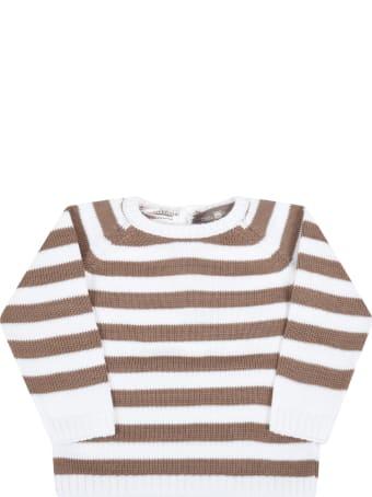 Little Bear Multicolor Sweater For Baby Boy
