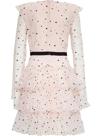 Philosophy di Lorenzo Serafini Grace Dress In Polka Dot Tulle