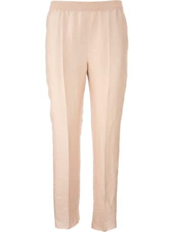 Agnona Linen Blend Trousers