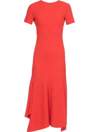 Victoria Beckham Dress With Asymmetric Hem