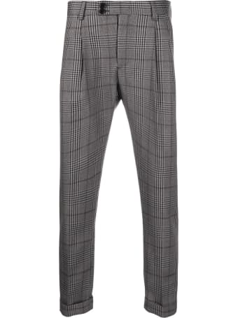 Low Brand Grey Virgin Wool Trousers