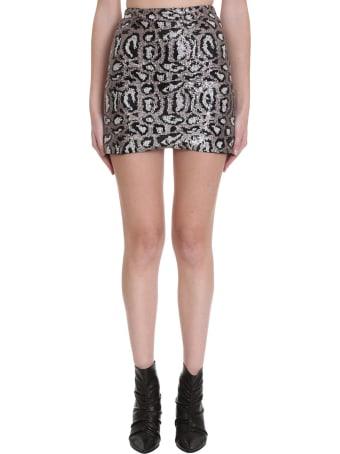 TPN3 Skirt In Animalier Tech/synthetic