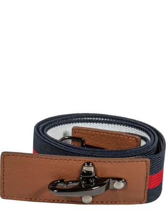 Fay Stripe Strap Belt