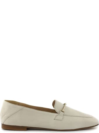 Fabio Rusconi Ecru Leather Loafer