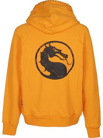 Marc Jacques Burton Orange Cotton Sweatshirt