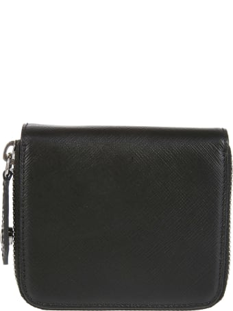 Vivienne Westwood Black Leather Wallet