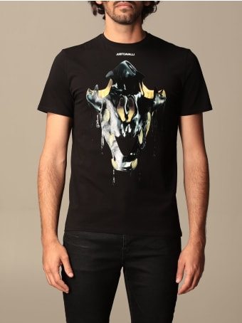 Just Cavalli T-shirt Just Cavalli T-shirt In Cotton With Print