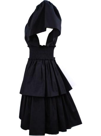 Fausto Puglisi Black Cotton Dress