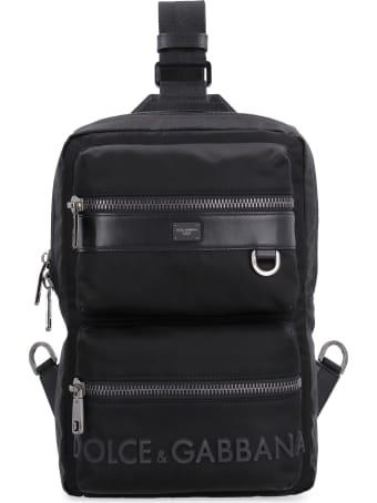Dolce & Gabbana Sicilia Dna Nylon Backpack