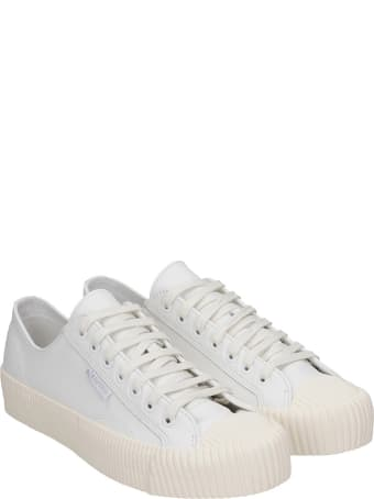 Superga Cotseu  Sneakers In White Leather