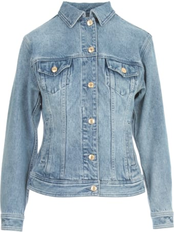 MICHAEL Michael Kors Fitted Denim Jacket