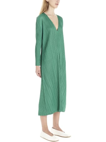 Pleats Please Issey Miyake 'monthly Colors' Dress