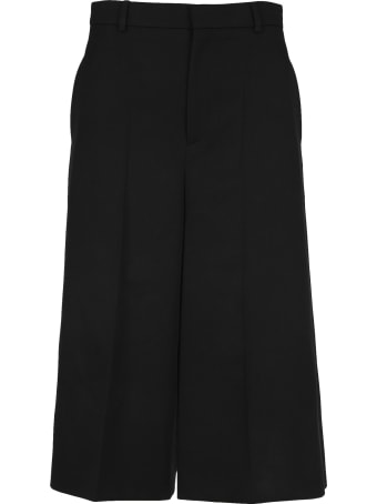Celine High-rise Wool Culottes
