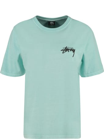 Stussy Logo Cotton T-shirt