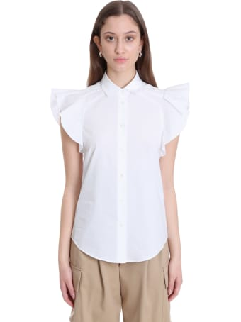 RED Valentino Shirt In White Cotton
